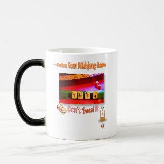 Seize your mahjong game; don't sweat it! magic mug