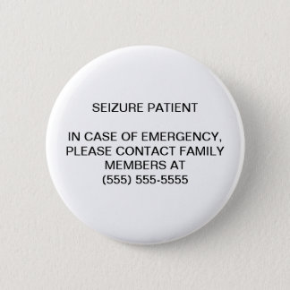 SEIZURE PATIENT - EMERGENCY NOTIFICATION BUTTONS