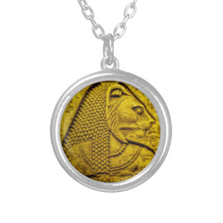 Sekhmet Silver Plated Necklace