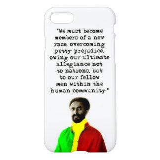 Selassie I Words Phone case