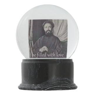 Selassie snow globe
