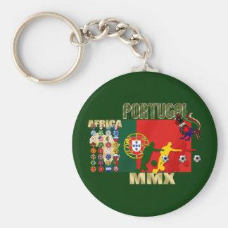 Selecção Portuguesa - 32 Paises Futebol Arte Basic Round Button Key Ring