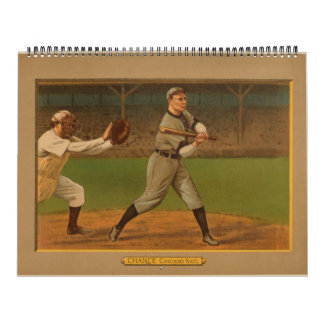 Select 1911 Golden Era Baseball Cards Calendar