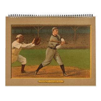 Select 1911 Golden Era Baseball Cards Calendar