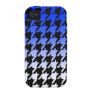 Select A Color Fade to White Houndstooth Vibe iPhone 4 Covers