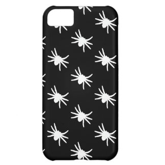 Select a Color Spider Pattern on Black iPhone 5C Cover