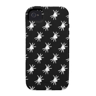 Select a Color Spider Pattern on Black iPhone 4/4S Cases