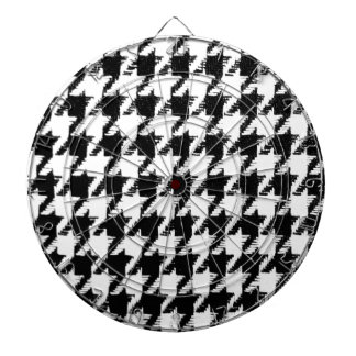 Select Your Color Houndstooth Pattern Dartboard