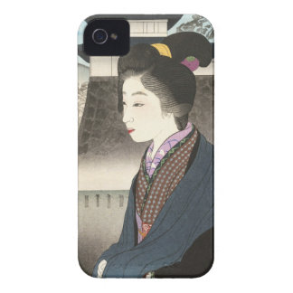 Selected Views of Kyoto, Moon at Nijo Castle Case-Mate iPhone 4 Case