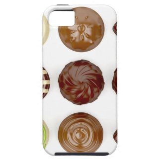 Selection of chocolate candies iPhone 5 case