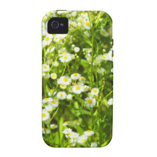 Selective focus of green field Case-Mate iPhone 4 case