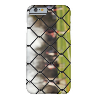 Selective focus on the net barely there iPhone 6 case