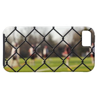 Selective focus on the net iPhone 5 cover