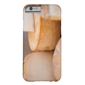 Selective focus photograph of cheeses in cheese barely there iPhone 6 case