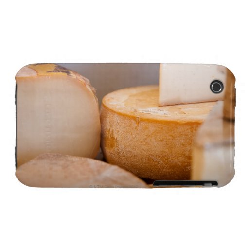 Selective focus photograph of cheeses in cheese iPhone 3 cover