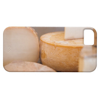 Selective focus photograph of cheeses in cheese iPhone 5 cases