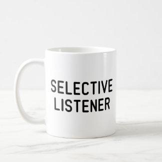 Selective Listener Coffee Mug