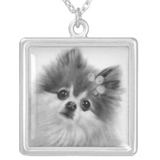 Selena Silver Plated Necklace