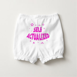 Self Actualized - Pink Nappy Cover
