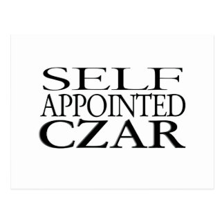 Self Appointed Czar Postcard