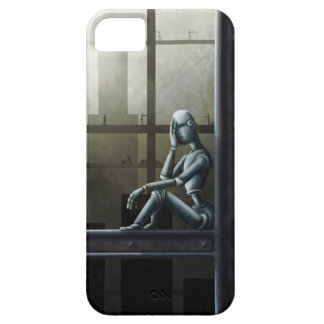 self aware robot scifi iPhone 5 covers