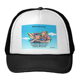 Self confidence cap