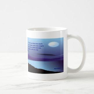 self confidence coffee mugs