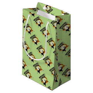 Self Confident Weasel Small Gift Bag