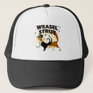 Self Confident Weasel Trucker Hat