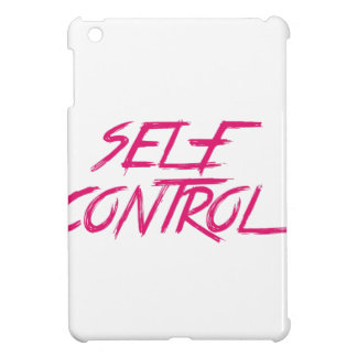 SELF CONTROL iPad MINI CASES