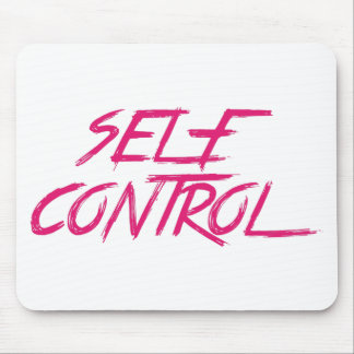 SELF CONTROL MOUSE PAD