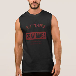 Self Defense Krav Maga Sleeveless Shirt