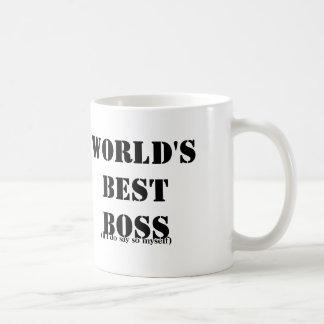 Self-Employed Best Boss Coffee Mug