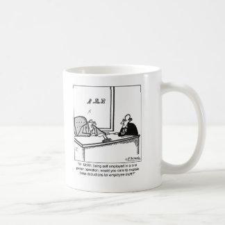 Self Employed & Employee Theft Coffee Mug