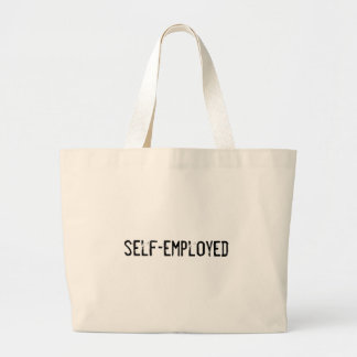 self-employed tote bags