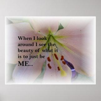 Self Esteem Poster