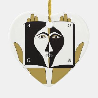 Self-Knowledge Ceramic Ornament