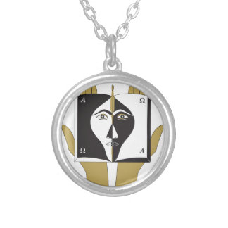 Self-Knowledge Silver Plated Necklace
