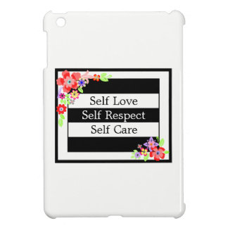 """""""Self Love"""" Gorgeous Floral iPad Case. Cover For The iPad Mini"""