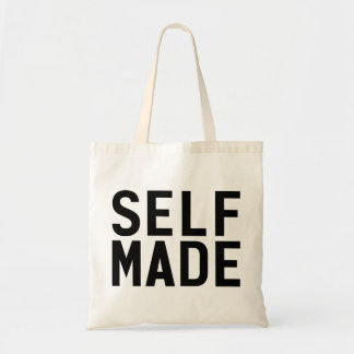 Self Made Independent Budget Tote Bag