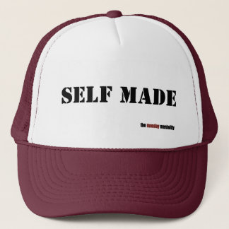 self made trucker hat