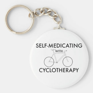 Self-medicating with cyclotherapy key ring