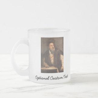 Self Portrait 1562 Frosted Glass Coffee Mug