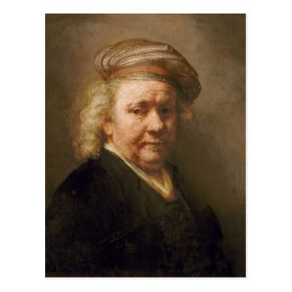 Self Portrait, 1669 Postcard
