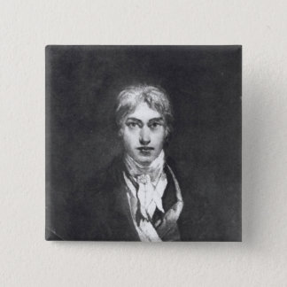 Self portrait, 1798 15 cm square badge