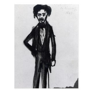 Self Portrait, 1849 Postcard