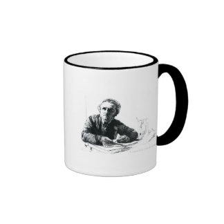 Self Portrait, 1862 Ringer Mug