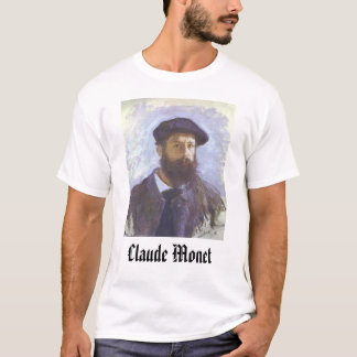 Self Portrait - 1886 - Claude Monet, Claude Monet T-Shirt