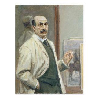 Self Portrait, 1910 Postcard