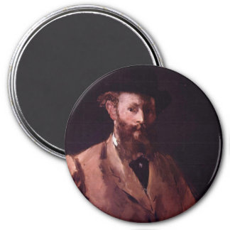 Self-Portrait 7.5 Cm Round Magnet
